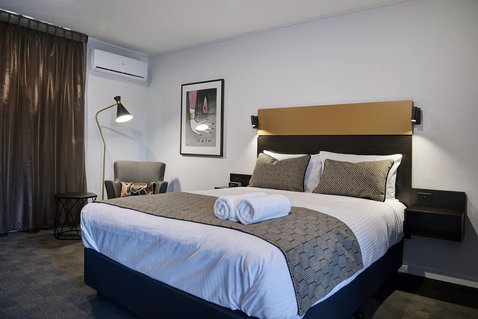 Photo of CBD Motor Inn Coffs Harbour Room